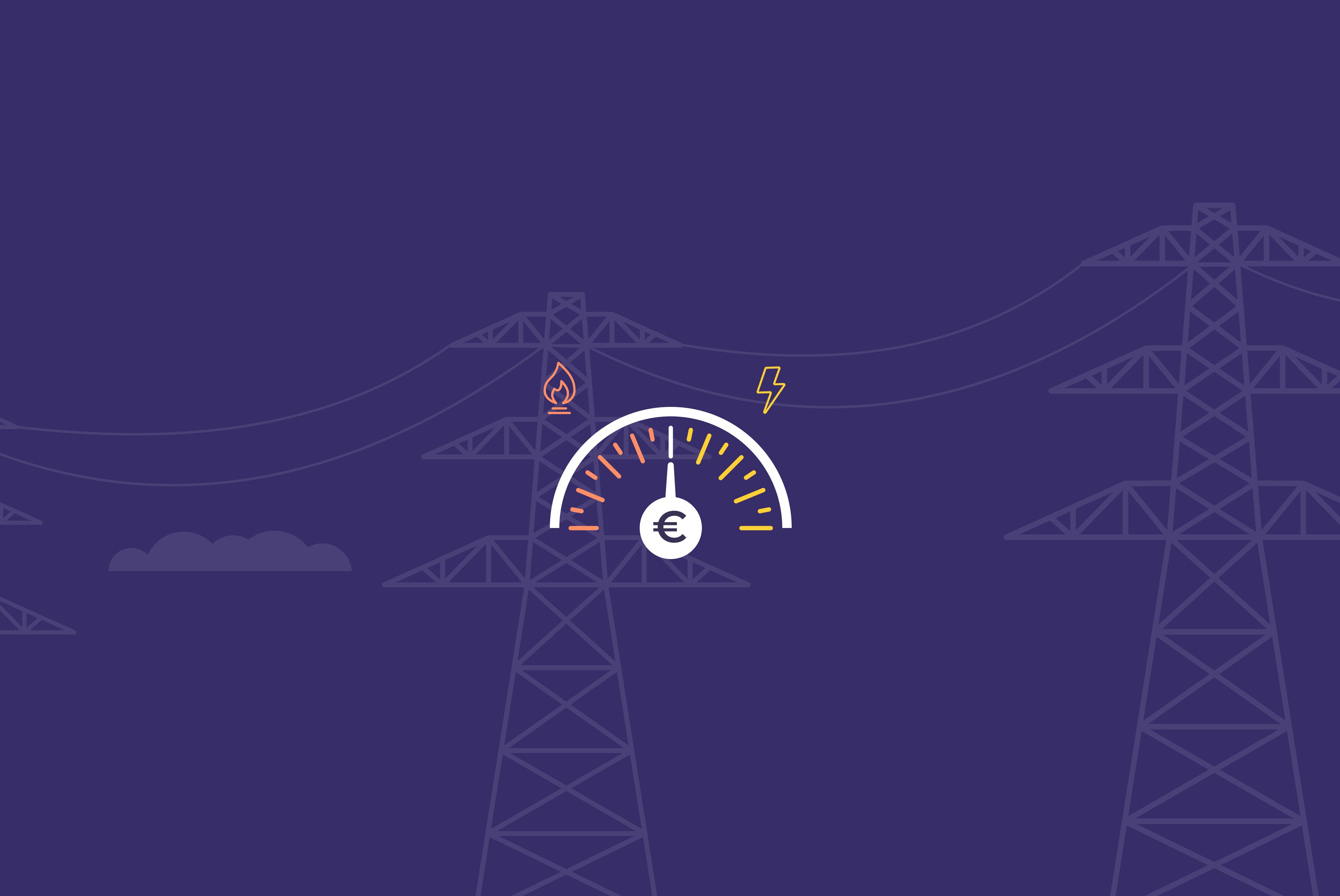 Mon indice énergie, le baromètre mensuel des prix de l'énergie par Mon courtier énergie